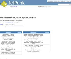 Renaissance Composers by Composition