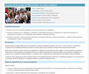 La lucha de las Abuelas de Plaza de Mayo: los nietos recuperados y restituidos
