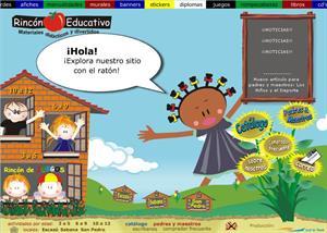 Rincón educativo. Materiales didácticos y divertidos