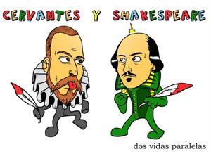 Cervantes y Shakespeare, vidas paralelas