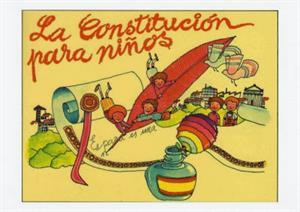 La Constitución Española para niños.