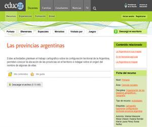 Las provincias argentinas