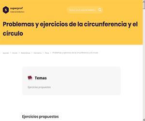 Objetos y formas geométricas. Radio y diámetro. Cálculo. Editorial Anaya