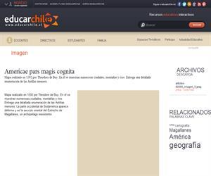 Americae pars magis cognita (Educarchile)