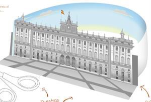 Papertoy: Palacio Real de Madrid. Recorta, pega y construye tu réplica.
