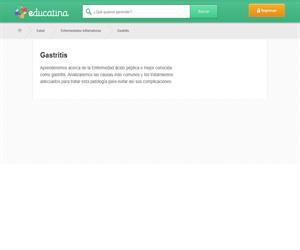 Gastritis (educatina.com)