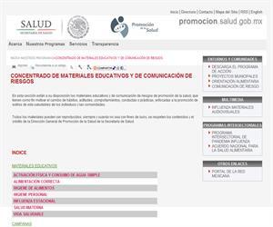 Materiales educativos sobre la Salud