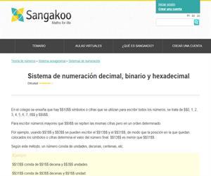 Sistema de numeración decimal, binario y hexadecimal