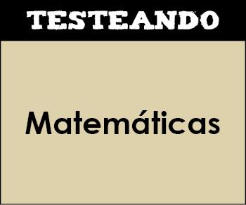 Matemáticas - Asignatura completa. 4º ESO (Testeando)