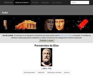 Parménides de Elea: Vida, Obras, Fragmentos, Anécdotas y Ejercicios