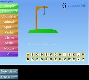 """""""Hangman"""", juego didáctico en inglés"""