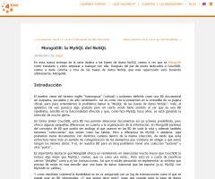 Introducción a MongoDB en 4tic.com: la MySQL del NoSQL