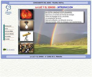 Luz y sonido – Conocimiento del medio – 3º Ciclo de E. Primaria – Unidad didáctica.