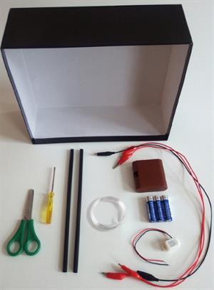 A2.2  Alambre Caliente. Experimento de electricidad para niños de 8 a 12 años