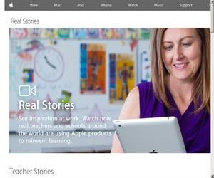 Real Stories (Apple - Education)