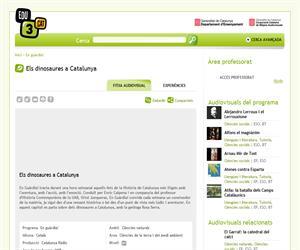 Els dinosaures a Catalunya (Edu3.cat)