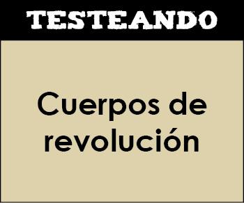 Cuerpos de revolución. 2º ESO - Matemáticas (Testeando)