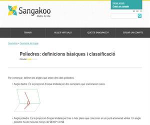 Políedres: definicions bàsiques i classificació