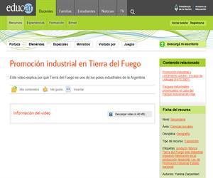 Industrias del sur argentino