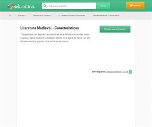 literatura medieval-características