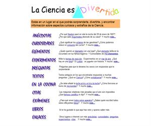 La ciencia es divertida. (ite.educacion.es)
