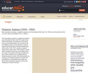 Nemesio Antúnez (1918 - 1993) (Educarchile)