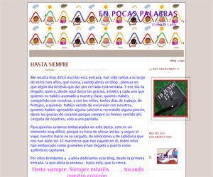 En Pocas Palabras (Blog Educativo de Educación Infantil)