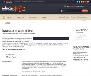 Capítulo 3: Defensa de las costas chilenas (Educarchile)