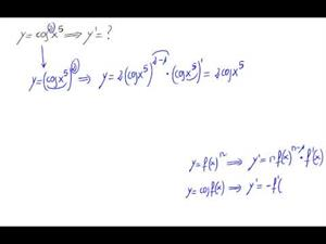 Derivada - trigonométricas y potencias