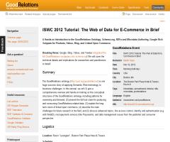 Events/ISWC2012 - GoodRelations Wiki