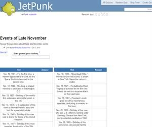 Events of Late November