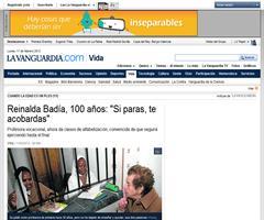 Reinalda Badia, una profesora vocacional de 100 años (La Vanguardia)