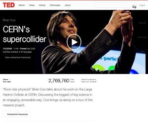Brian Cox sobre el super colisionador del CERN
