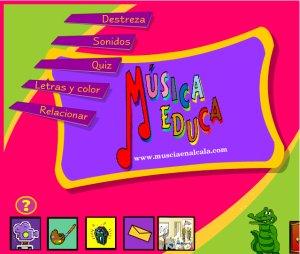 Juegos musicales (Musicaeduca)