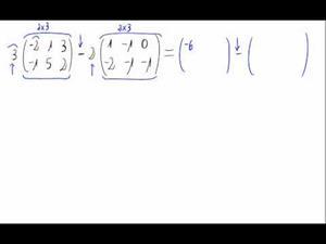 Combinación lineal de matrices