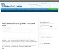 6 excelentes alternativas gratuitas a Microsoft Visio (en wwwhatsnew)
