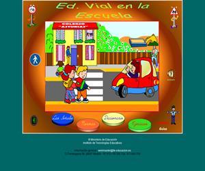 Educación Vial en la Escuela. (www.isftic.mepsyd.es)