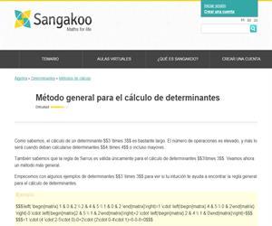 Método general para el cálculo de determinantes