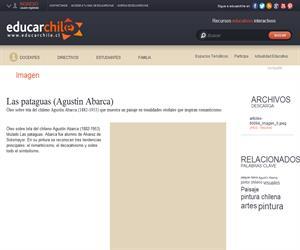 Las pataguas (Agustín Abarca) (Educarchile)