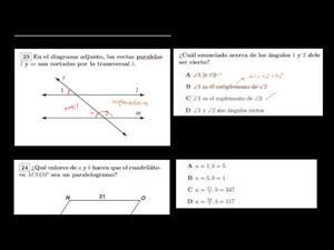 Triángulos y paralelogramos (Khan Academy Español)