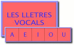 Les lletres vocals