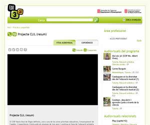 Projecte CLIL (resum) (Edu3.cat)