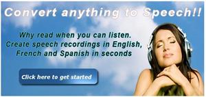 Read The Words, para mejorar tu pronunciación (inglés, francés, español)