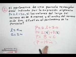 Calcular el VALOR NUMÉRICO de una expresión algebraica │ ejercicio 4