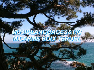Music languages and TIC