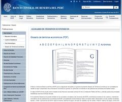 Diccionario de términos económicos y acrónimos