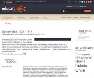 Nuestro Siglo. 1938 - 1945 (Educarchile)