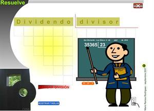 Dividir por 2 cifras. Matemática para Primaria