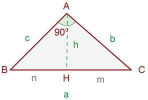 Teorema de la altura, explicación y ejemplo (Vitutor)