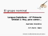 El grupo nominal
